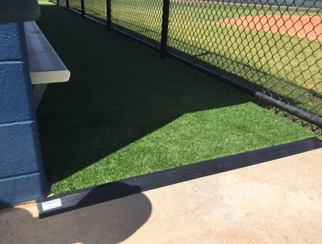 flooring for dugout